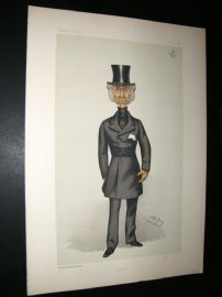 Vanity Fair Print 1882 Lord Penrhyn, Spy Cartoon